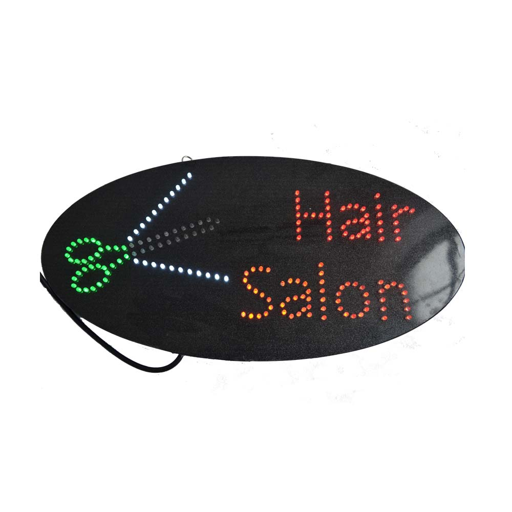 Hair Salon Oval Board