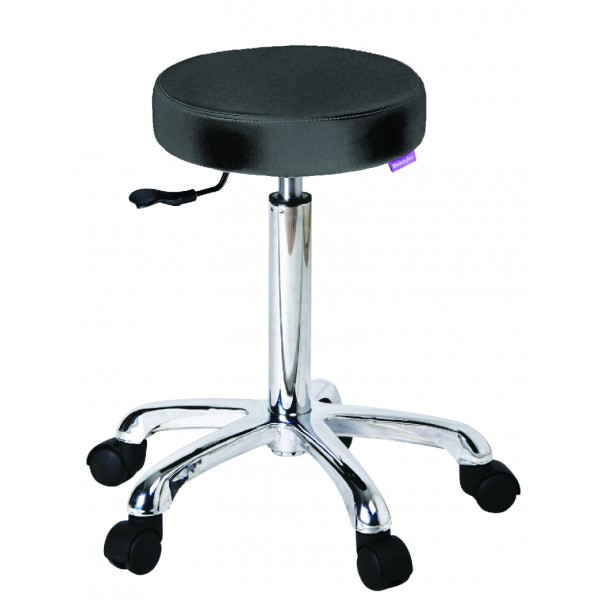 Beautician Stool- Black