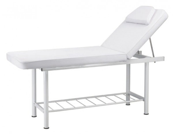 Massage Bed White 190 x 70cm