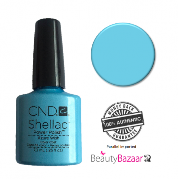 CND Shellac Azure Wish  0.25oz