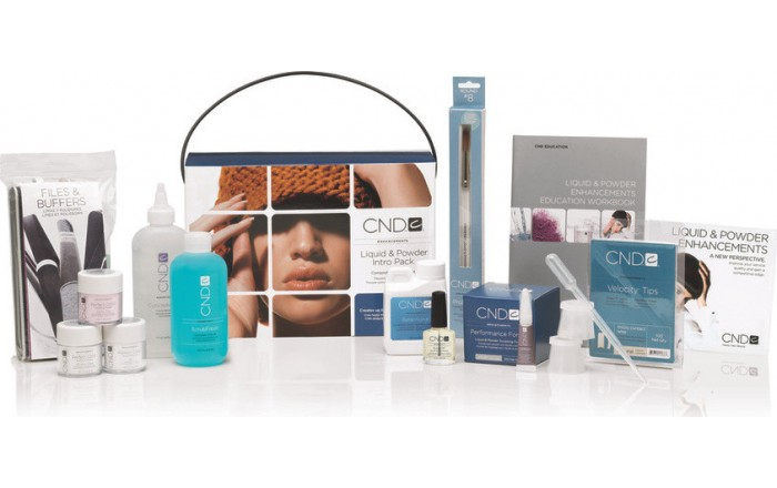 CND Shellac Liquid Powder Intro Pack