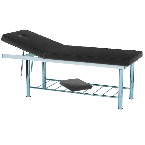 Massage Bed Black 190 x 70cm