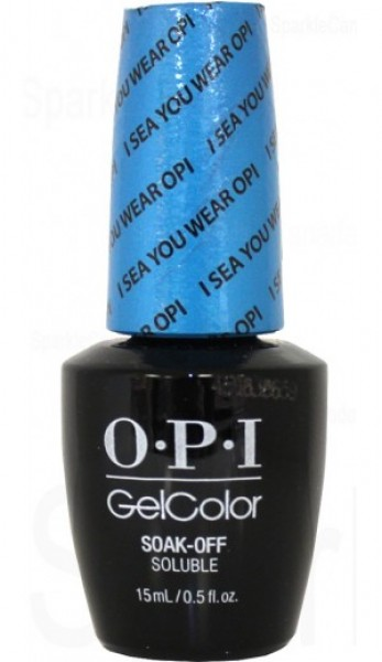 OPI GelColor - I Sea You Wear OPI 0.5 oz - #GCA73