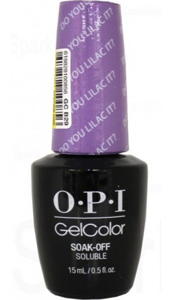 OPI GelColor  Do You Lilac It? 0.5 oz