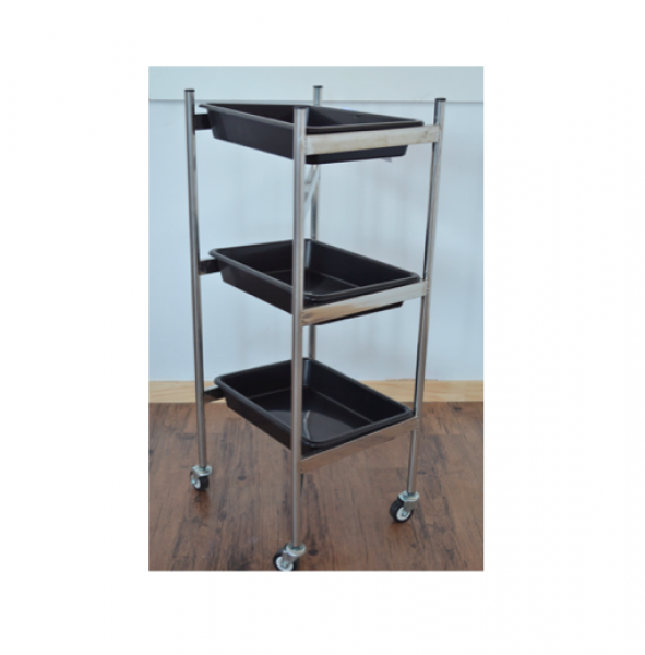 Black Trolley 3 Tier