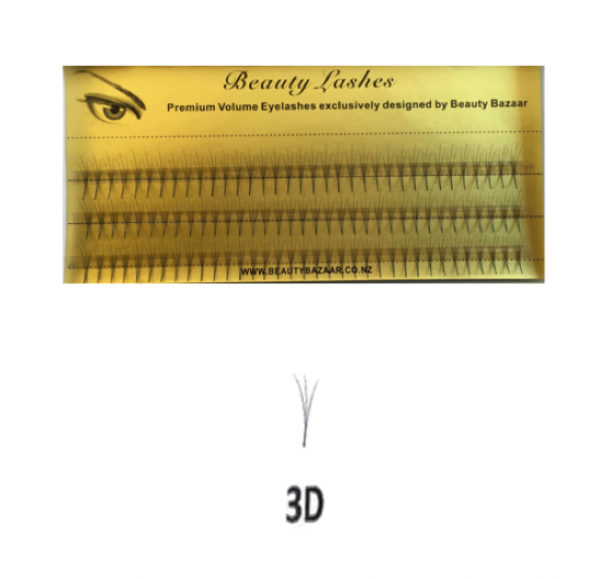 3D Lash Eyelash Extensions 14mm