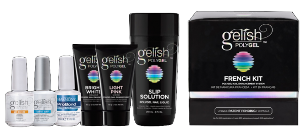 Gelish Polygel French Kit: Shipping Now