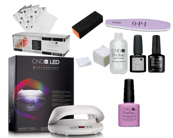CND Starter plus Kit : 1 choice of colour