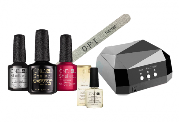 CND Shellac Basic Starter kit