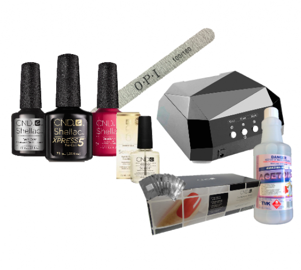 CND Shellac Basic Plus Starter Kit