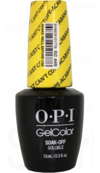 OPI GelColor  I Just Cant Cope acabana 0.5 oz