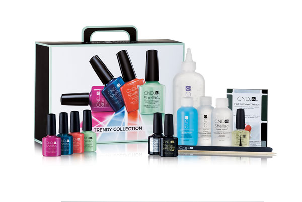 CND Shellac  Trendy Trial Pack  0.25oz