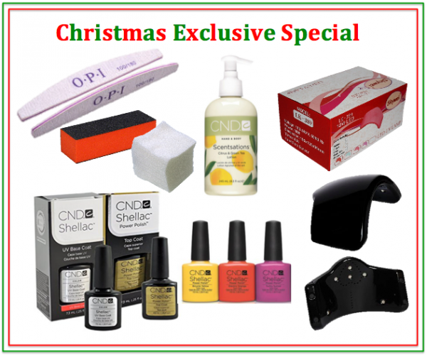 CND Shellac for Christmas - Deal 1